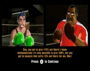 Doc encourages Mac between rounds