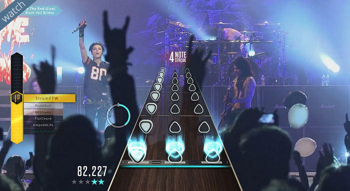 Activision shutting down Guitar Hero Live's 'GHTV' mode December 1st