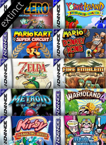 Nintendo 3DS Ambassador Game Boy Advance Games