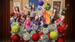 Fun with disco balls!