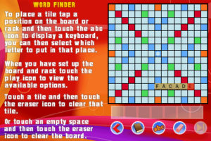 Scrabble Tools gameplay