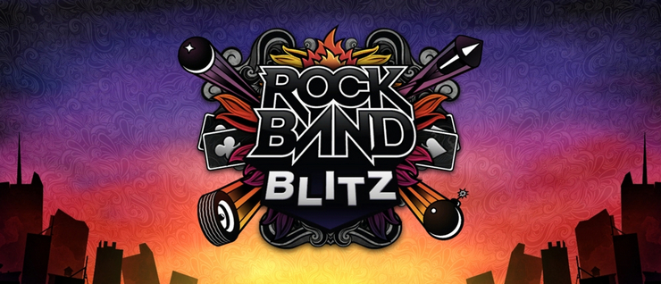 Rock Band Blitz to be delisted by August 28th