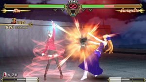 Fate/unlimited codes English gameplay