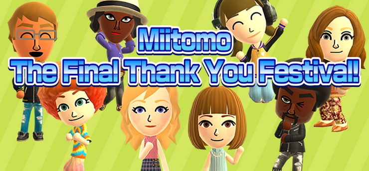 Nintendo shutting down Miitomo App on May 9th, 2018