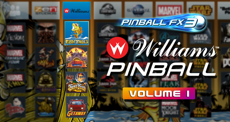 Williams and Bally pinball tables return, this time in Pinball FX3