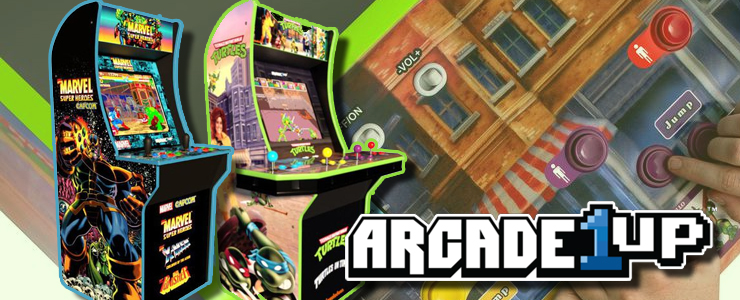 Ninja Turtle arcade titles return from Arcade1Up