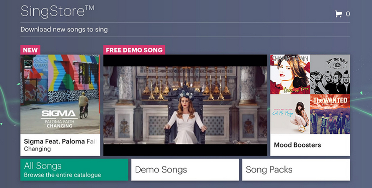 SingStar DLC and Community Features sunset January 31, 2020