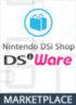 Nintendo DSi Shop (DSiWare)