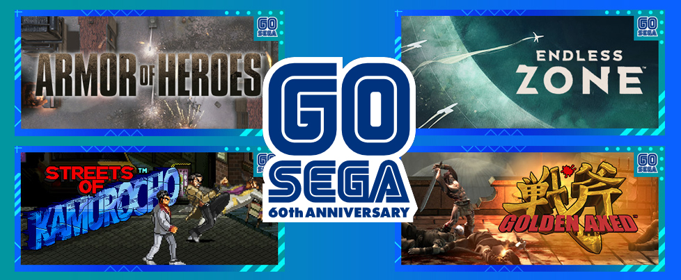 Sega announces 4 free games to celebrate 60th Anniversary, all to be delisted on October 19th