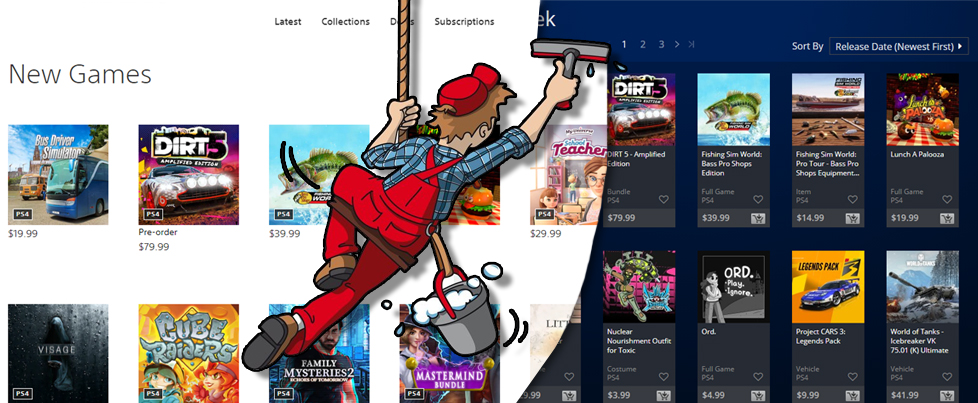 Get the old PlayStation Store back, for now