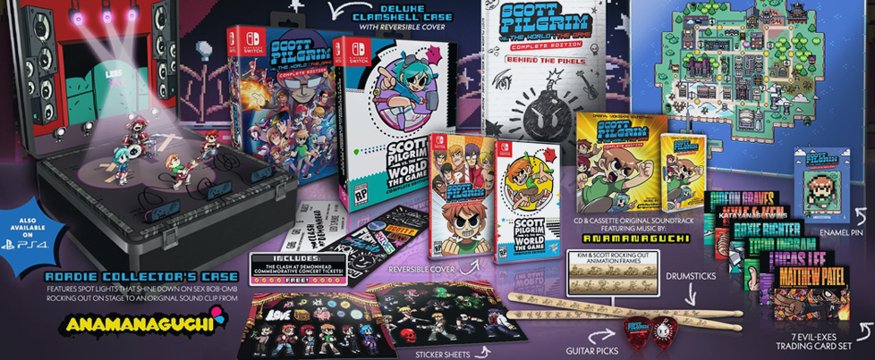 Scott Pilgrim gets physical PS4 & Switch releases, possibly hitting Best Buy too