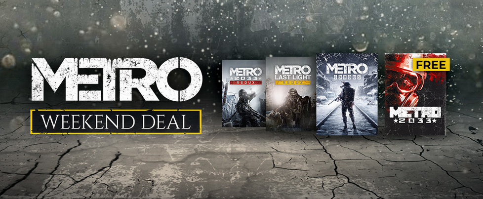 Metro 2033 back on Steam and free until March 15th
