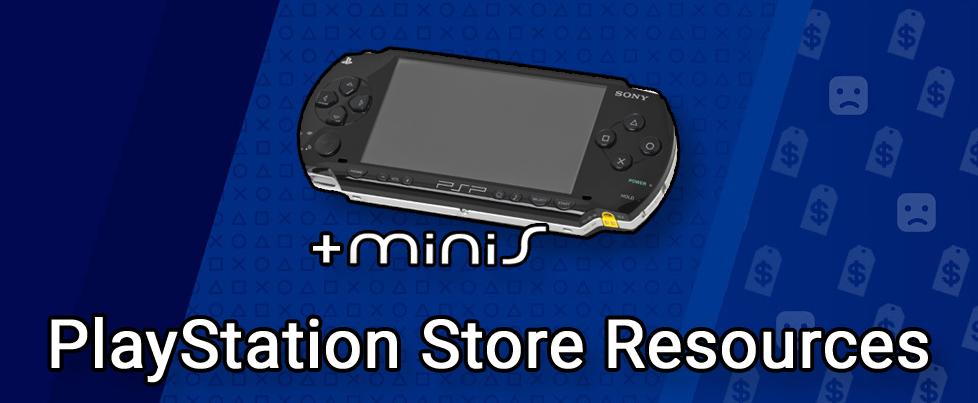 PlayStation Store Resources for PSP & PS minis content