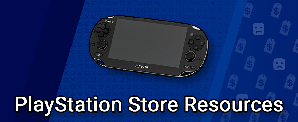 PlayStation Store Resources for PlayStation Vita content