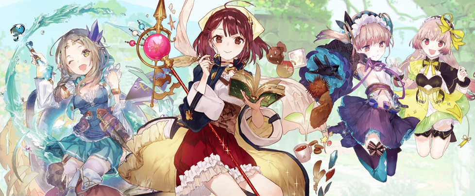 "Three of Atelier's ""Mysterious"" titles delisted on April 21st/22nd, replaced by DX releases"
