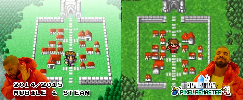 Final Fantasy V & VI leaving Steam ahead of 'Pixel Remaster' series